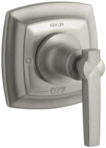 KOHLER K-T16241-4-BN Margaux Volume Control Trim with Lever Handle, Vibrant Brushed (Traditional Volume Control Handle)
