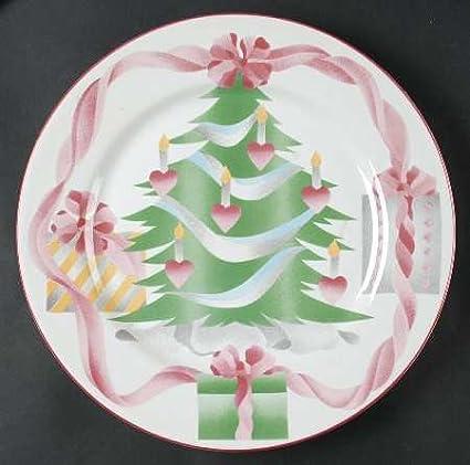"2 SETS AVAILABLE 4 ~ 7 5//8/""  WHITE CHRISTMAS  KOREA SANGO SALAD DESSERT PLATES"