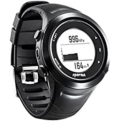 Spovan Mens Womens Military Sports GPS Fitness Waterproof Digital Watches
