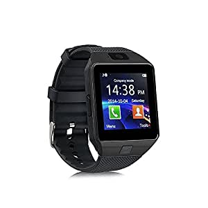 Smart Watch Smartwatch Bluetooth Sweatproof Phone with Camera TF/SIM Card Slot for Android and IPhone Smartphones for Kids Girls Boys Men Women