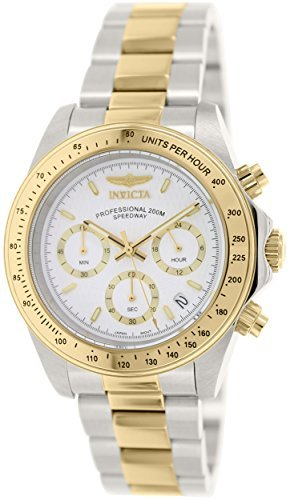 Invicta Men's 7029 Signature Collection Speedway Two-Tone Chronograph Watch (Tachymeter Collection Watch)