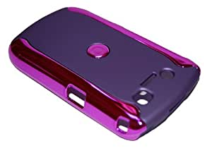 KingCase BlackBerry 8900 Curve (Javelin) 2-Tone Rubberized Hard Case (Purple) + Free Screen Protector