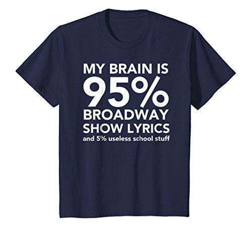 My Brain is 95% Broadway - Musical Theatre Fan T-Shirt