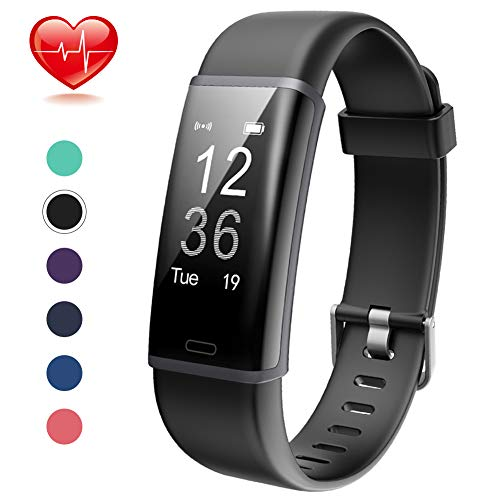 Lintelek Fitness Tracker Heart Rate Monitor