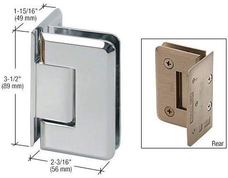 Pinnacle - Soporte de pared para mampara de ducha (cristal redondo): Amazon.es: Bricolaje y herramientas