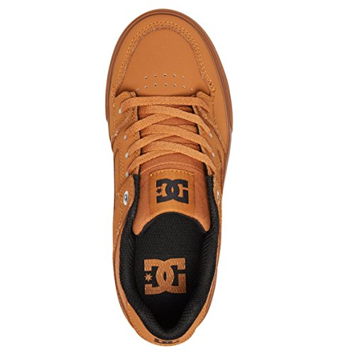 Jaune Basses Wheat DC Gar Shoes Pure Sneakers on 66nBP4Y