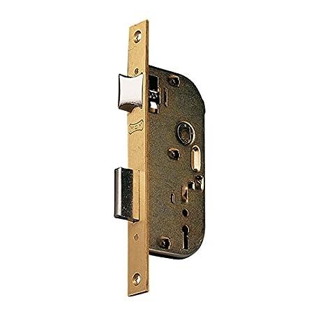 Mcm 1308-0-35 - Cerradura recto entrada 35 bicromatado: Amazon.es: Bricolaje y herramientas
