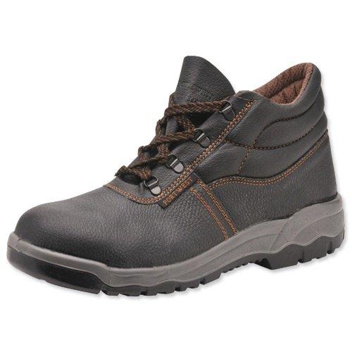 Marke Neu Portwest S1P Chukka Boots, D Ring Stahl-Zehenkappe, Mittelsohle &Leder, rutschfest, Größe 7, FW10SIZE7