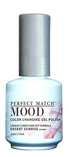 LECHAT Perfect Match Mood Gel Polish, Desert Sunrise, 0.500 oz ()