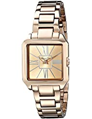 Kenneth Cole New York Womens KC4983 Classic Rose Gold-Tone Watch with Link Bracelet
