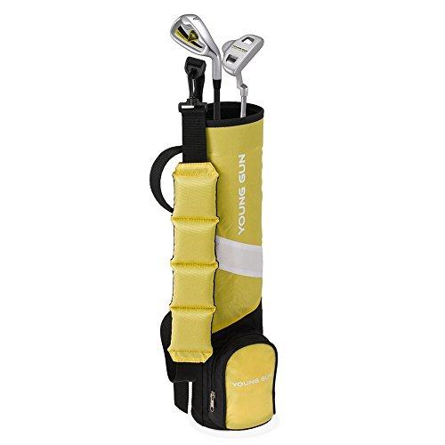 Young Gun ZAAP Birdie Junior Kid Golf Club Youth Set Bag