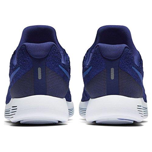 Nike Herre Lunarepic Lav Flyknit 2 Løbesko Dyb Kongeblå / Medium Blå 13,0