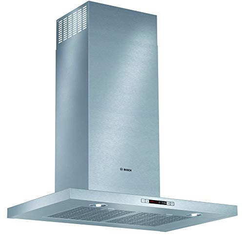 "Bosch HCB50651UC500 30"" Stainless Steel Chimney Style Wall Mount Range Hood"