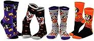 TeeHee Halloween/Puppy in My Pocket Kids Cotton Fun Crew Socks Multi Pair Pack
