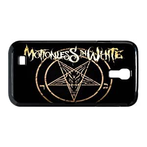 Gators Florida USA Music Band D6 Motionless In White Print Black Case With Hard Shell Cover for SamSung Galaxy S4 I9500