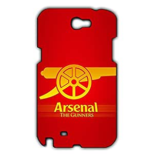 Personal Design FC Arsenal Football Club Phone Case Cover For Samsung Galaxy Note 2 3D Plastic Phone Case