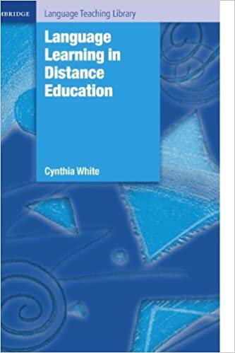 Book Language Learning in Distance Education (Cambridge Language Teaching Library) by Cynthia White (2003-11-24)