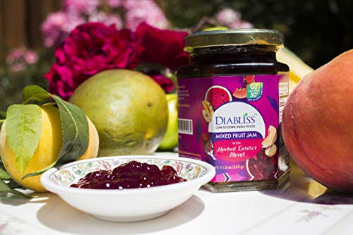 Diabliss Mixed Fruit Jam with Herbal Extract Blend