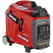 Black Max 2100 Watt Gasoline Powered Digital Inverter Generator