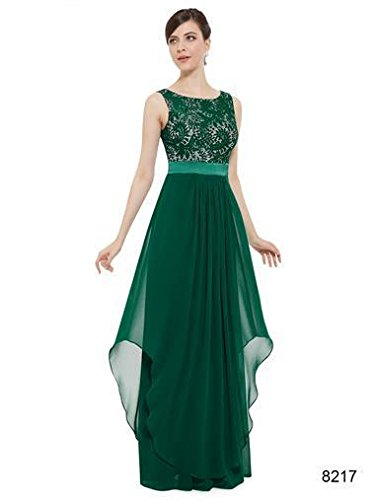 Ever Pretty, Grace Karin Quissmoda Vestido Fiesta Largo, Color Negro,Verde,Azul