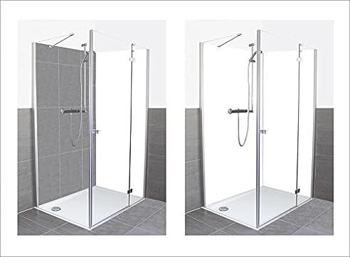 artland dusche bad rckwand wandverkleidung aus aluminium verbund platte unbekannt aluminium verbundplatte wei wei - Aluminium Ruckwand Dusche 2