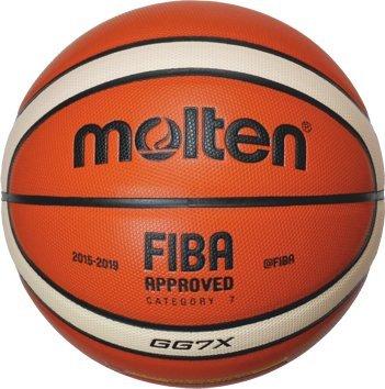 Boje Sport Top Wettspielball Premium Composite Leder Gr/ö/ße 7 von Molten Farbe:Orange//Ivory