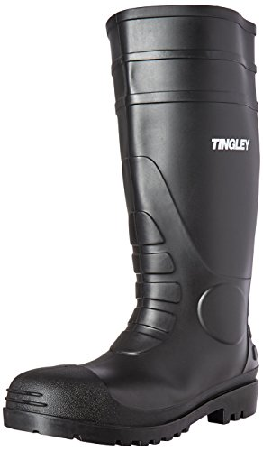 Tingley 31151 Economy SZ12 Kneed Boot for Agriculture, 15-Inch, Black