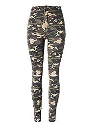 Women's Outdoor Slim Skinny Camouflage Military Pants Leggings Jeans T116