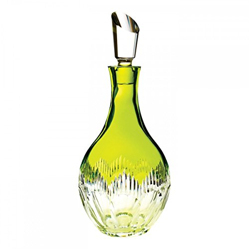 Waterford Neon Lime Green Decanter by Waterford