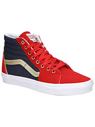 Vans SK8 Hi Marvel Captain Marvel Skate Shoes Size Men 5.5 Women 7