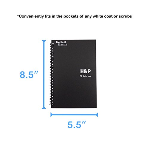 H p notebook medical history and physical notebook 100 for H and p template