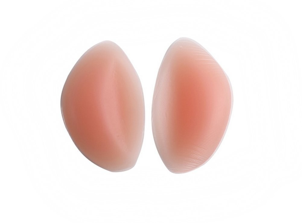 Remeehi 1 Pair Soft Invisiable Silicone Inserts Pads Breast Enhancers for Bras Swimsuits and Bikini TypeA