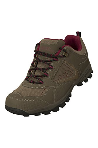 Outsole McLeod Mountain amp; Grip for Shoes Lightweight Rubber Sturdy amp; Phylon Warehouse Gyming Lining Womens Warm Breathable Walking Durable Running Brown Midsole Mesh q6Z7q5xrw