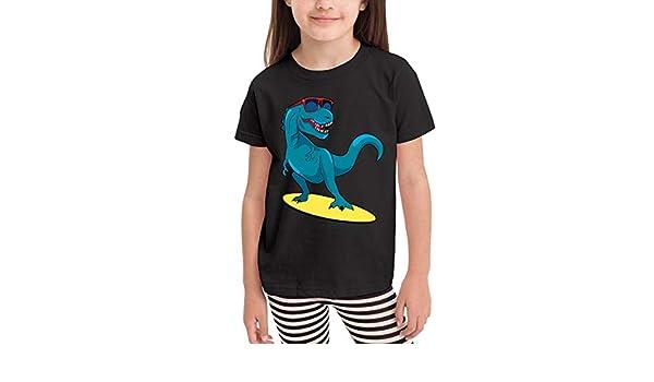 CERTONGCXTS Baby Girls Kids St Patricks Day Irish American Flag Cute Short Sleeve Tee Shirt Size 2-6