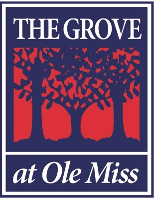 5 inch The Grove at OLE Miss Decal University of Mississippi Rebels U of M Logo MS Removable Wall Sticker Art NCAA Home Room Decor 4 by 5 inches