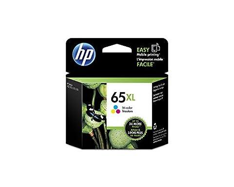 HP 65XL Tri-color High Yield Original Ink Cartridge (N9K03AN) (74xl Hp Ink)