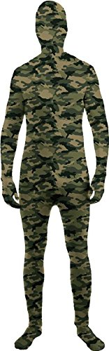 I'm Invisible Child Child Costume Camo - Large - Skin Suit Camo Child Costumes