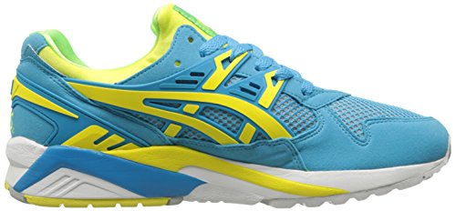 Asics Mens Gel-Kayano Trainer Retro Sneaker Atomic Blue / Blazing Yellow