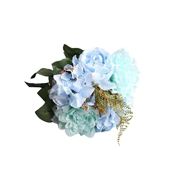 Vacally-Artificial-Bouquet-Fake-Flowers-Bouquet-Floral-Evening-Party-Home-Decor