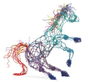 Twisteez Craft Sculpture Wire, 30 Inches, Assorted Color, Pack of 200 from Twisteez