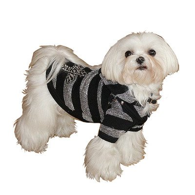 UPC 847892009595, Goth Dog Hoodie Size: Extra Small