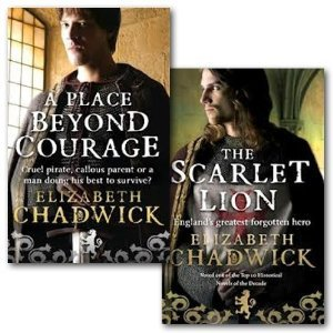 Elizabeth Chadwick Collection 2 Books Set (A Place Beyond Courage and the Scarlet Lion) (A Place Beyond Courage)