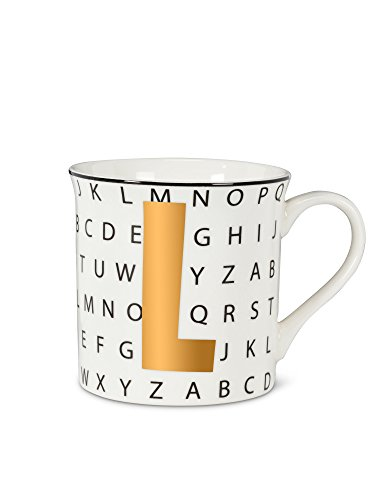 Abbott Collection 27-Alpha/L Graphic Letter L Mug
