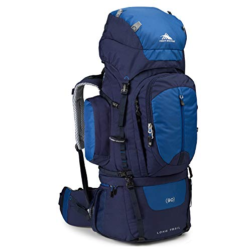 High Sierra Long Trail 90 Internal Frame Backpack, True Navy/Royal/True Navy