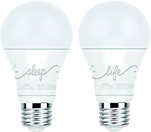 C By Ge A19 C Life And C Sleep Smart Led Light Bulb Combo
