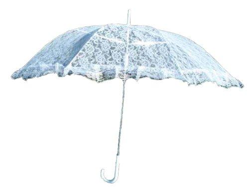Girl size Parasol White ELP001