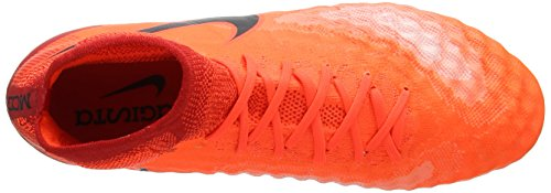 Nike Magista Obra Ii Sg-Pro, Zapatillas de Fútbol para Hombre Naranja (Total Crimson/black-university Red/bright Mango)