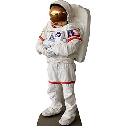 h69003 Nasa astronauta traje espacial cartón Standup: Amazon ...