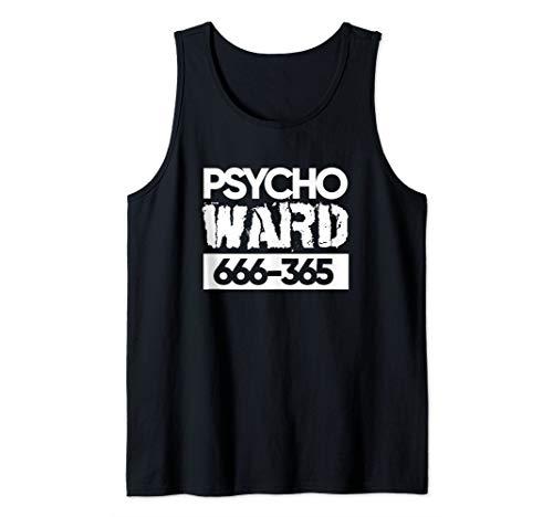 Psycho Ward Crazy Mad Halloween Costume Tank Top