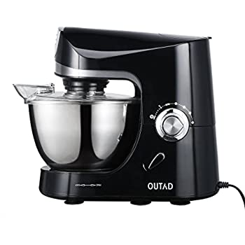 OUTAD Stand Mixer 120V 650W 475 Qt Bowl 10 Speed Kitchen Electric Machine